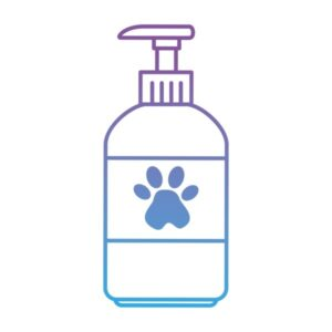 Drawing of an organic dog washing solution example